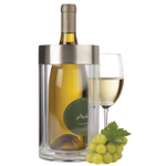 Prodyne Acrylic and Stainless Steel Iceless Wine Cooler