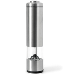 Orka Brushed Stainless Steel Salt & Pepper Mill