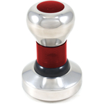 RSVP Red Convex 58mm Tamper for Espresso