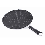 Orka 14 Inch Black Silicone Splatter Screen