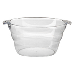 Large Clear Acrylic Party Tub Cooler