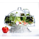 Prodyne Acrylic Salad On Ice with Dome Lid