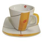 Amore Espresso Demitasse Coffee Cup & Saucer, 12 Piece Set