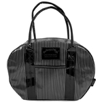 Two Lumps of Sugar Pinstripe Bowler Lunch Bag