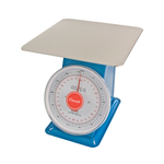 Escali Mercado Steel Dial Scale with Plate