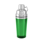 Green Stainless Steel 24oz Cocktail Martini Shaker NEW