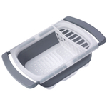 Progressive Plastic Collapsible In-Sink Dish Drainer