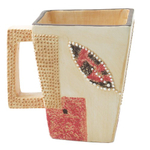 Take It or Leaf It Southwestern Coffe Mugs 4 Piece Set