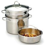 Endurance Stainless Steel Multi Cooker Steamer Pot 8 Quart