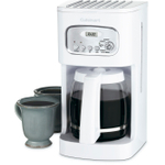 Cuisinart White 12 Cup Programmable Coffee Maker