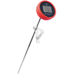 Admetior Red Digital Pasta Timer and Thermometer