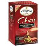 Twinings Decaffeinated Chai Tea, 20 Count