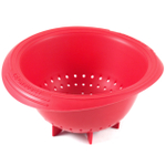 Le Creuset Cherry Silicone Berry Colander