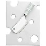 Boston Warehouse Hamptons Cheese Board and Knife Set