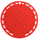 Le Creuset Cherry Silicone 8 Inch French Trivet