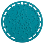 Le Creuset Caribbean Silicone 8 Inch French Trivet
