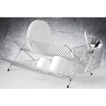 Endurance Stainless Steel Compact Folding Dish Rack - Damaged Retail Box