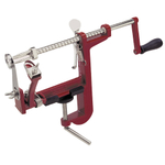 Progressive Red Cast Iron Apple Machine
