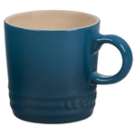 Le Creuset Deep Teal Stoneware 3.5 Ounce Petite Espresso Mug