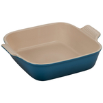 Le Creuset Heritage Deep Teal Stoneware Square 9 Inch Baking Dish