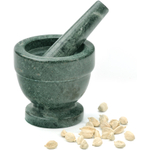 RSVP Green Marble Mortar and Pestle