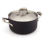 GreenPan San Francisco Aluminum Casserole Pan with Lid, 5 Quart