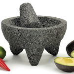 Large Granite Authentic Mexican Molcajete