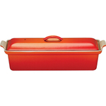 Le Creuset Heritage Flame Enameled Cast Iron Pate Terrine, 1.5 Quart