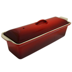 Le Creuset Heritage Cherry Enameled Cast Iron Pate Terrine, 1.5 Quart
