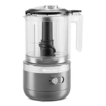 KitchenAid Matte Charcoal Grey 5 Cup Cordless Food Chopper