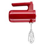 KitchenAid Empire Red Cordless 7 Speed Hand Mixer
