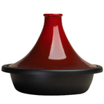Le Creuset Cherry Enameled Cast Iron 2 Quart Moroccan Tagine