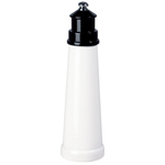 Fletcher's Mill Gourmet Lighthouse Black Pepper Mill, 9 Inch
