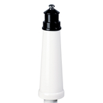 Fletcher's Mill Gourmet Lighthouse Black Salt Mill, 9 Inch