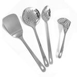Metal Kitchen Utensils 4 Piece Set