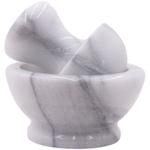 RSVP White Marble Spice Grinder