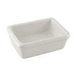 HIC Harold Import Co White Porcelain Soap Dish