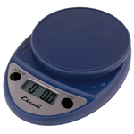 Escali Primo Royal Blue Digital Scale 11 lb / 5 Kg