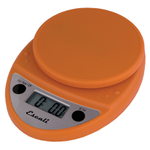 Escali Primo Pumpkin Orange Digital Scale 11 lb / 5 Kg