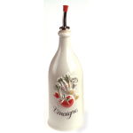 Revol La Provence Cream Porcelain 8.75 Ounce Round Vinegar Bottle