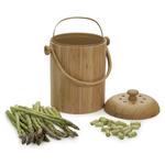 Bamboo Kitchen Compost Pail