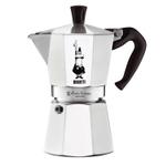 Bialetti Moka Express Aluminum 6 Cup Espresso Maker