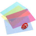Progressive Multicolored Chopping Mat, Set of 4