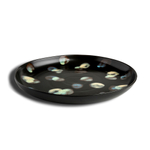 Carmel Ceramica Dappled Stoneware Round Serving Platter
