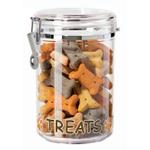 Oggi Clear Treats 59 Ounce Treat Jar