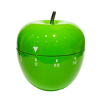 Oggi Green Stainless Steel Apple 60 Minute Kitchen Timer