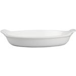Le Creuset Heritage White Stoneware Au Gratin Dish, 24 Ounce
