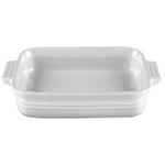 Le Creuset Heritage White Stoneware 9 Inch Square Baking Dish
