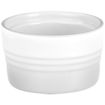 Le Creuset White Stoneware Stackable Ramekin, 7 Ounce