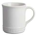 Le Creuset White Enameled Stoneware 12 Ounce Mug